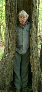 photo of Lang in tree hollow